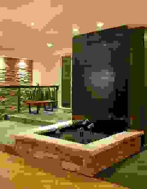 Benchscape Modern Corridor, Hallway and Staircase by Lex Parker Design Consultants Ltd. Modern
