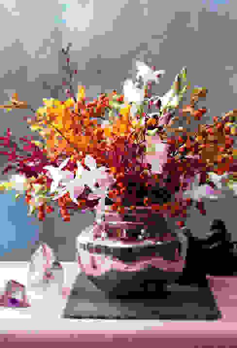 Orchideen herbstlich integriert Tollwasblumenmachen.de Moderne Wohnzimmer