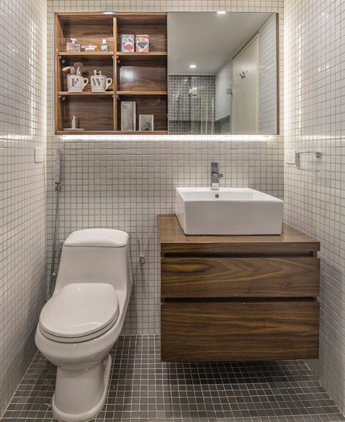 Modern bathroom by CENTRAL ARQUITECTURA Modern