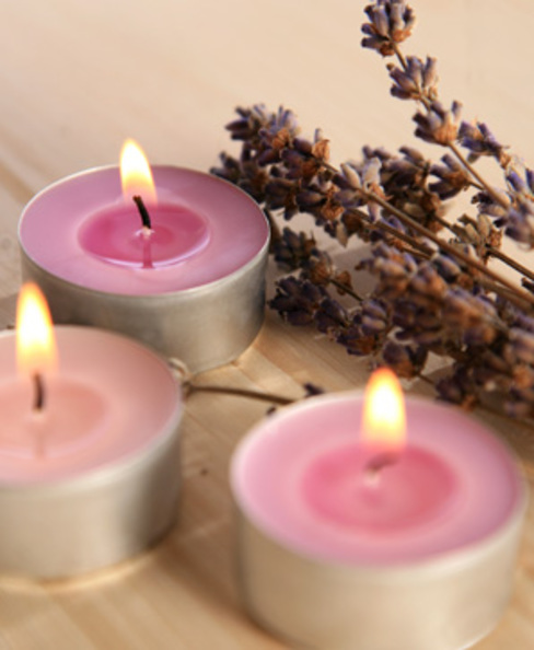 Scented Tea Lights de homify Clásico