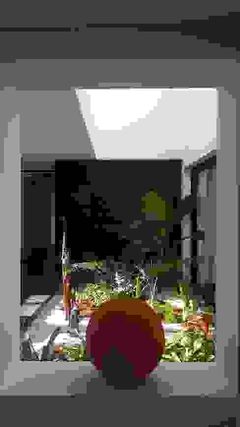 Jardin interior Jardines de estilo moderno de homify Moderno Madera Acabado en madera
