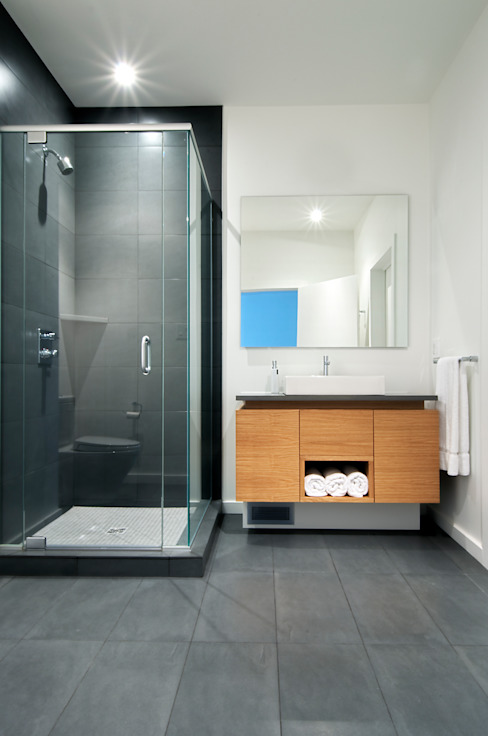Bathroom by Linebox Studio, Modern