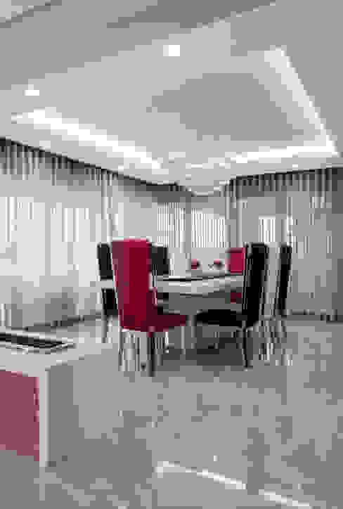 Ultra modern Modern dining room by FRANCOIS MARAIS ARCHITECTS Modern