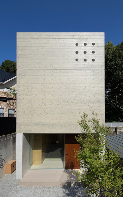 Modern Houses by Atelier Square Modern Concrete