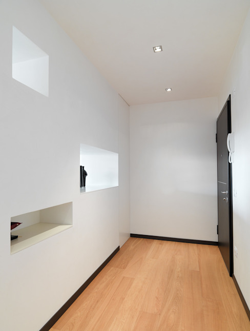 Modern Koridor, Hol & Merdivenler SANSON ARCHITETTI Modern