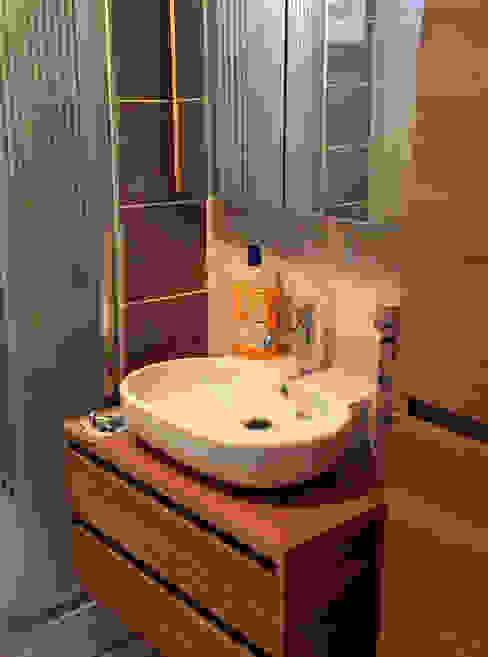 Kuzguncuk Yuvam Apt. Komple Tadilat Projesi Modern Banyo Mandalin Dizayn Modern