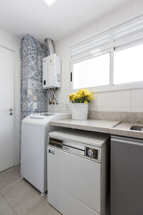 ECP | Área de Serviço Cozinhas minimalistas por Kali Arquitetura Minimalista