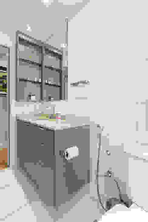 ECP | Banho Kali Arquitetura Banheiros minimalistas