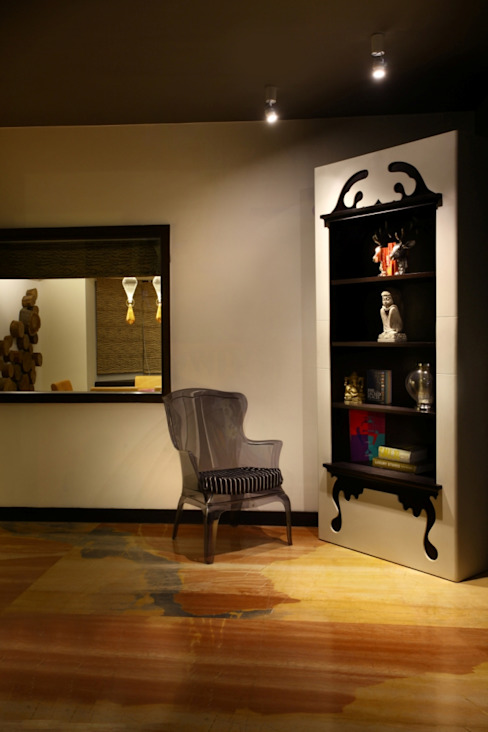 Study Room Eclectic style study/office by groupDCA Eclectic