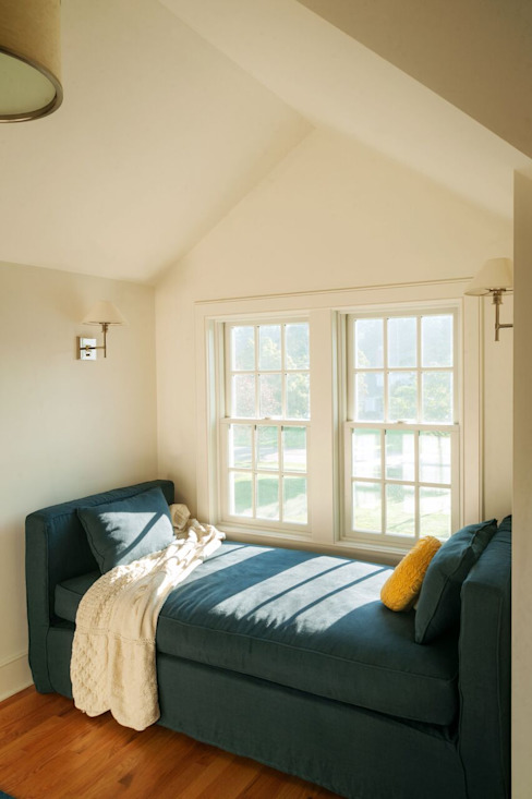 Chandler Project - Window Seat Modern Windows and Doors by New Leaf Home Design Modern