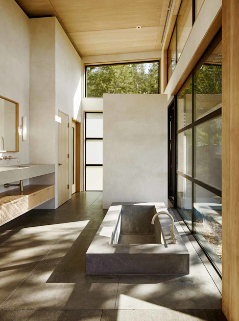 Healdsburg I Modern Bathroom by Feldman Architecture Modern