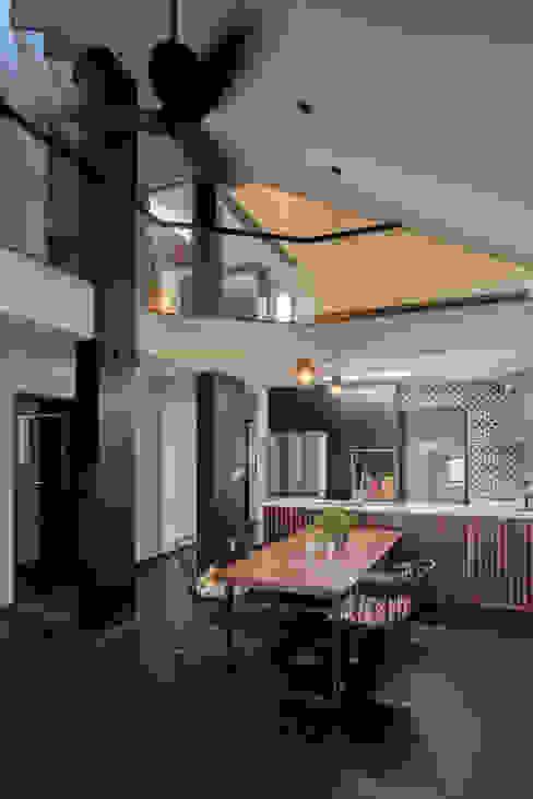 廚房 by 건축사사무소 재귀당