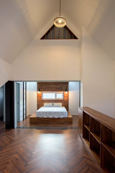 臥室 by 건축사사무소 재귀당