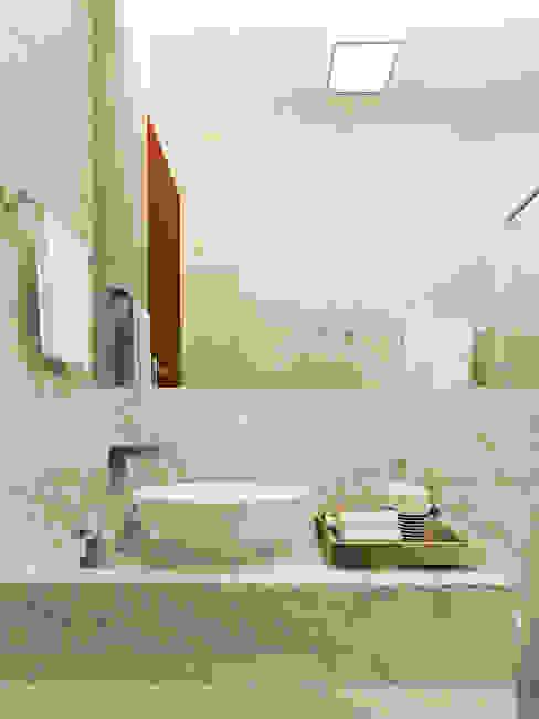 Baños de estilo  por Brenda Borges, Moderno