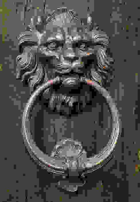 Lion Head Door Knocker:  Windows & doors  by Clayton Munroe,