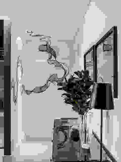 Hotspot 105 Corredores, halls e escadas modernos por Tiago Rocha Interiores Moderno