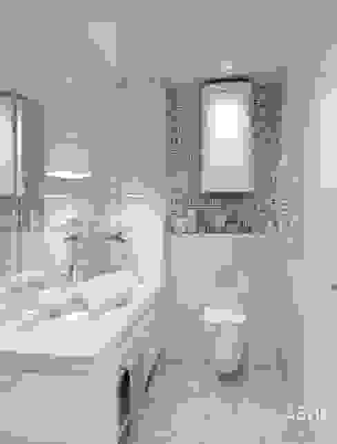 Квартира по ул. Зорге, г. Уфа: Ванные комнаты в . Автор – Студия авторского дизайна ASHE Home