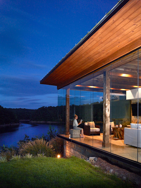 Modern houses by Christopher Architecture & Interiors Modern
