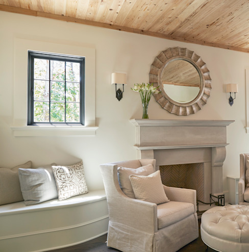 French Normandy Indian Springs Home by Christopher Architecture & Interiors Classic