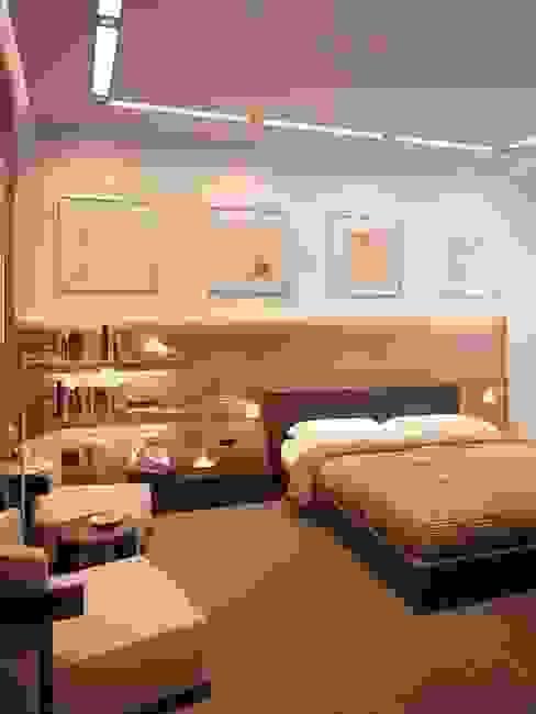 Dormitorios de estilo  por القصر للدهانات والديكور,