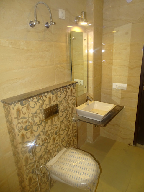 The Big 99 INXUS Constructions Modern bathroom