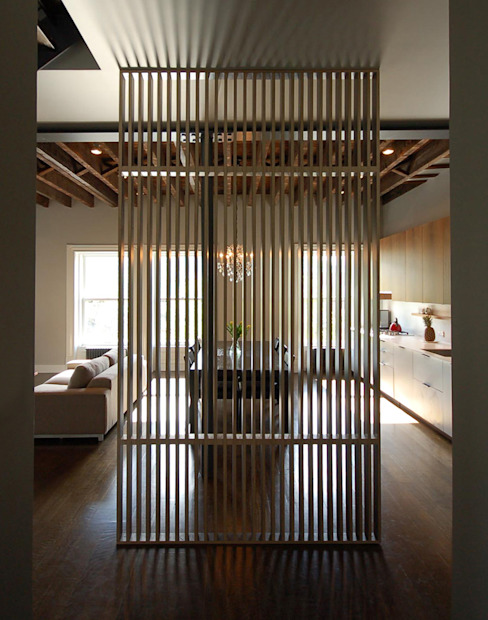 SA-DA Architecture 现代客厅設計點子、靈感 & 圖片