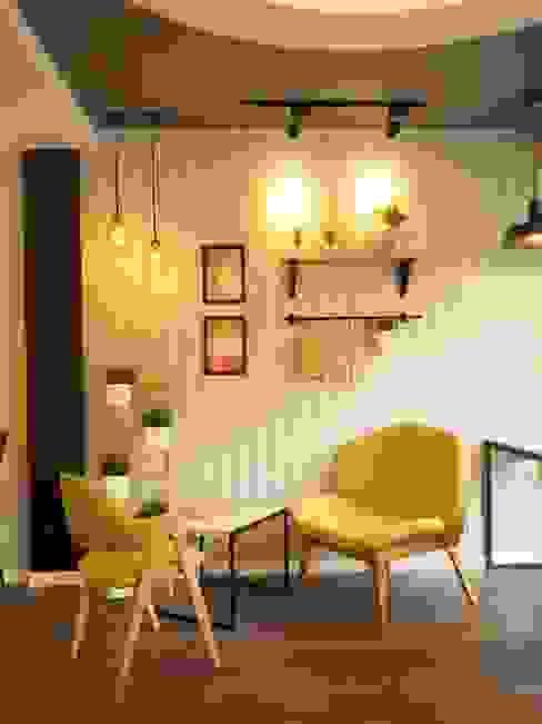 Bars & clubs originaux par box89 furniture Éclectique Bois Effet bois