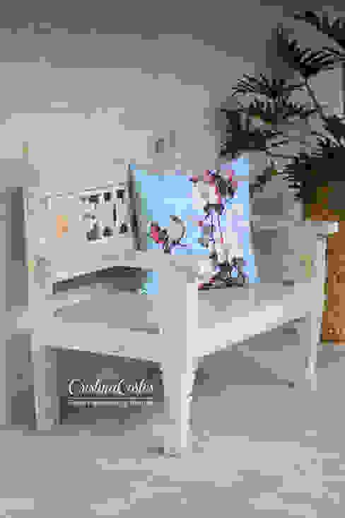 حديث  تنفيذ Cristina Cortés Diseño y Decoración , حداثي خشب Wood effect
