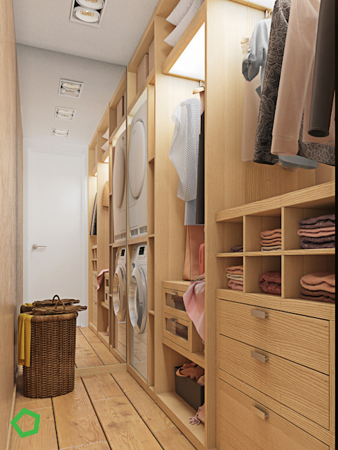 غرفة الملابس تنفيذ Polygon arch&des,
