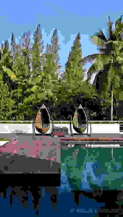 Albercas de estilo  por D' Architects Studio