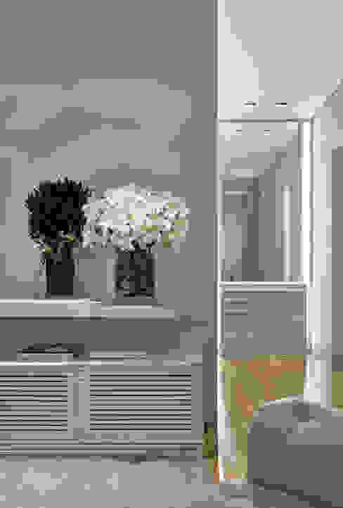 غرفة نوم تنفيذ Alessandra Contigli Arquitetura e Interiores, حداثي