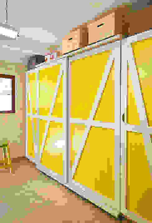 New storage area custom designed by Deborah Garth Interior Design International (Pty)Ltd Rustic