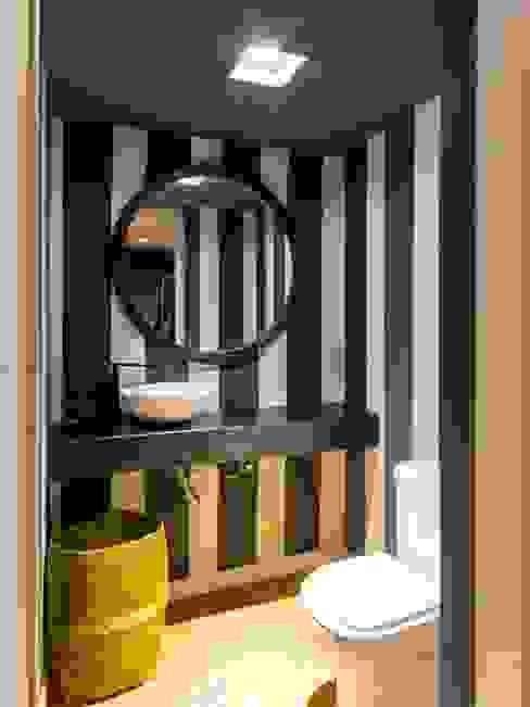 Bathroom by Interiores B.AP, Rustic Metal