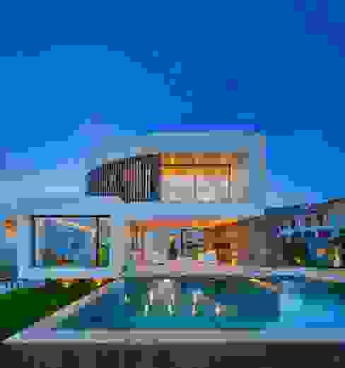 Дома в средиземноморском стиле от GESTEC. Arquitectura & Ingeniería Средиземноморский