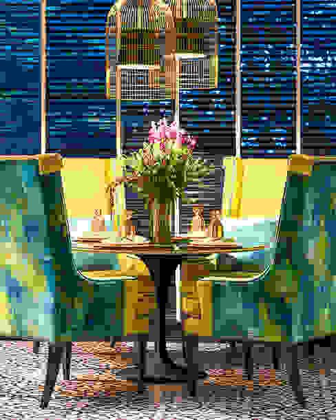 Design Intervention Modern style balcony, porch & terrace Multicolored