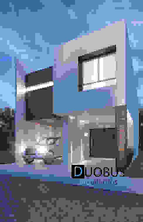 Casa J.E.M. Fracc. Arboreto. Casas modernas de DUOBUS M + L arquitectos Moderno