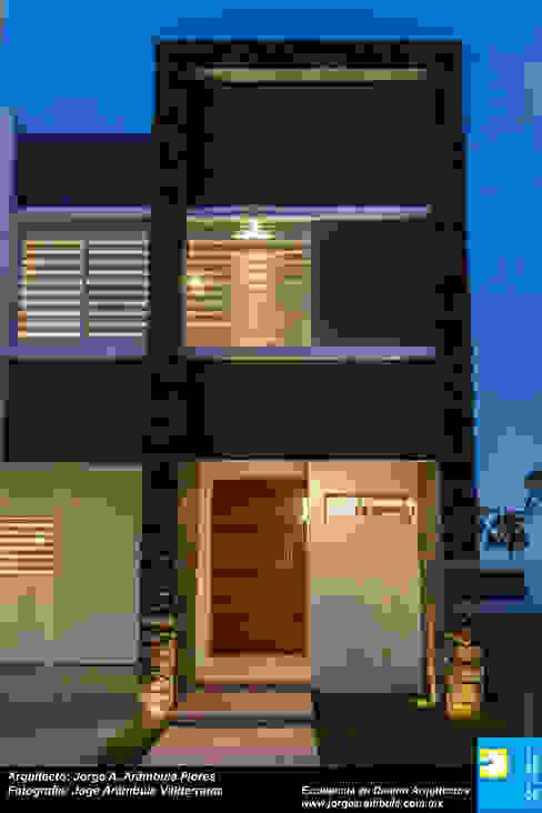 Minimalist houses by Excelencia en Diseño Minimalist Stone