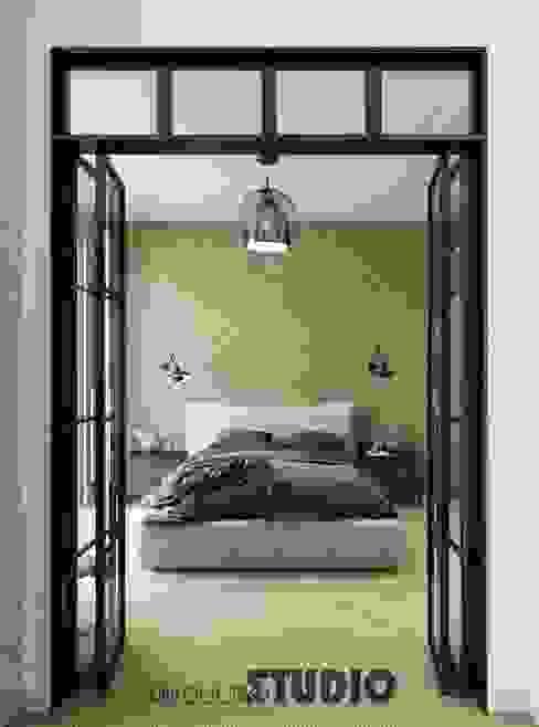 Dormitorios de estilo ecléctico de MIKOŁAJSKAstudio Ecléctico