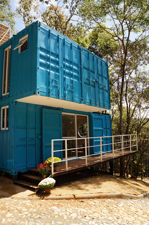 Modern houses by Edificare Containers Transformados Modern
