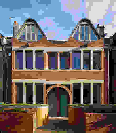 London Brownstones Knox Bhavan Architects Modern houses Sandstone