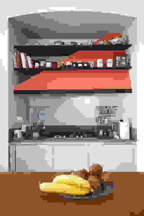 CASA M&L Andrea Orioli Cucina moderna Arancio