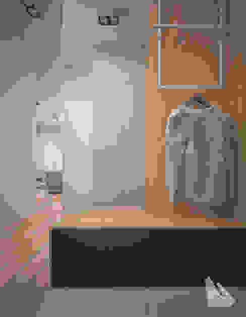 Przedpokój Styl Nowoczesny Dream Design Nowoczesny korytarz, przedpokój i schody