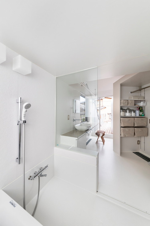 Eclectic style bathroom by ジャムズ Eclectic