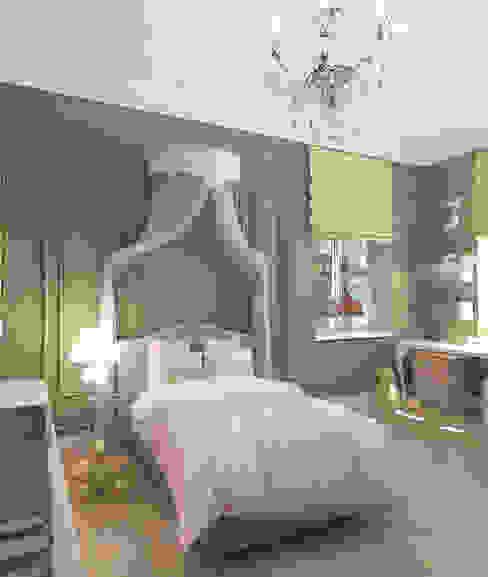 غرفة نوم تنفيذ Tanya Andreeva, إنتقائي خشب معالج Transparent
