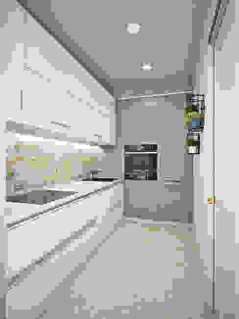 Nhà bếp phong cách tối giản bởi Ирина Рожкова - частный дизайнер интерьера Tối giản