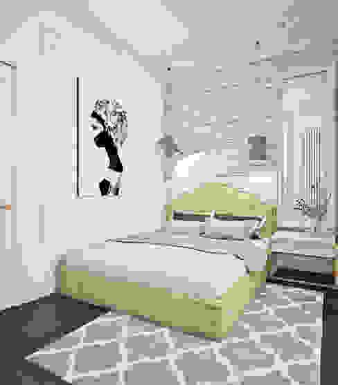 Phòng ngủ phong cách chiết trung bởi Ирина Рожкова - частный дизайнер интерьера Chiết trung Gạch