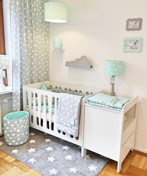 ​Moonlight Cot Bed homify Baby room Wood White