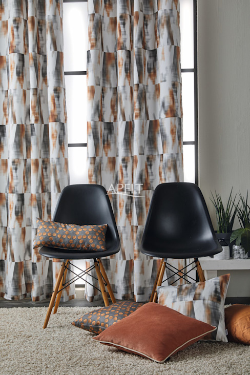 Alfred Apelt GmbH 现代客厅設計點子、靈感 & 圖片 Brown