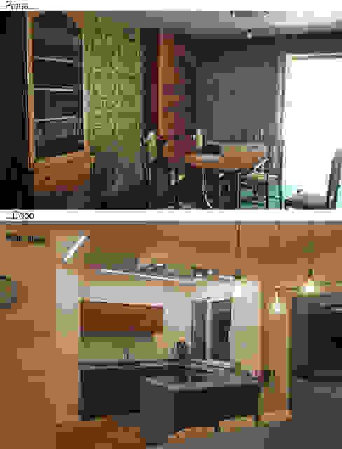 Architettura & Interior Design 'Officina Archetipo' Kitchen
