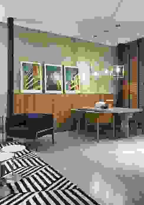Modern Dining Room by Carmen Calixto Arquitetura Modern Concrete